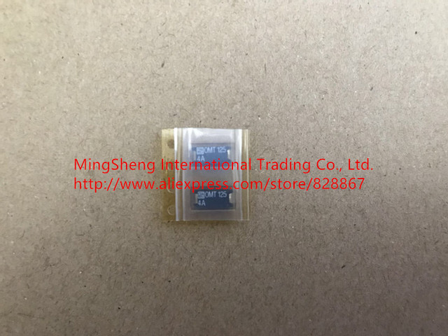 Original new 100% Swiss import OMT 125 4A patch disposable fuse insurance pipe OMT125