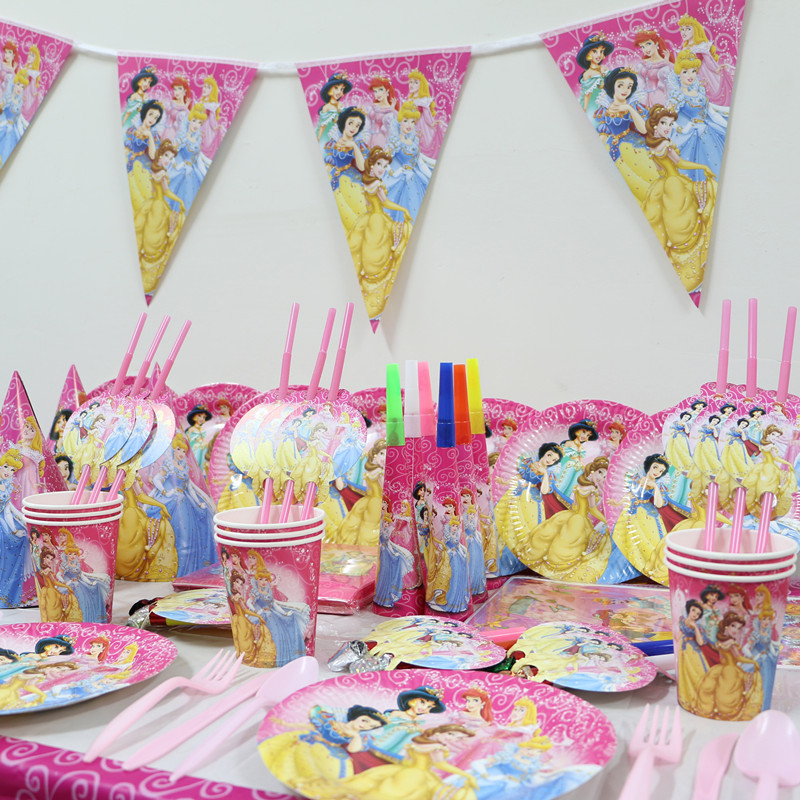 Diy Party Decoration Kit Clusters: Set 1Pack 143pcs Luxury Kids Birthday Party Decoration Set