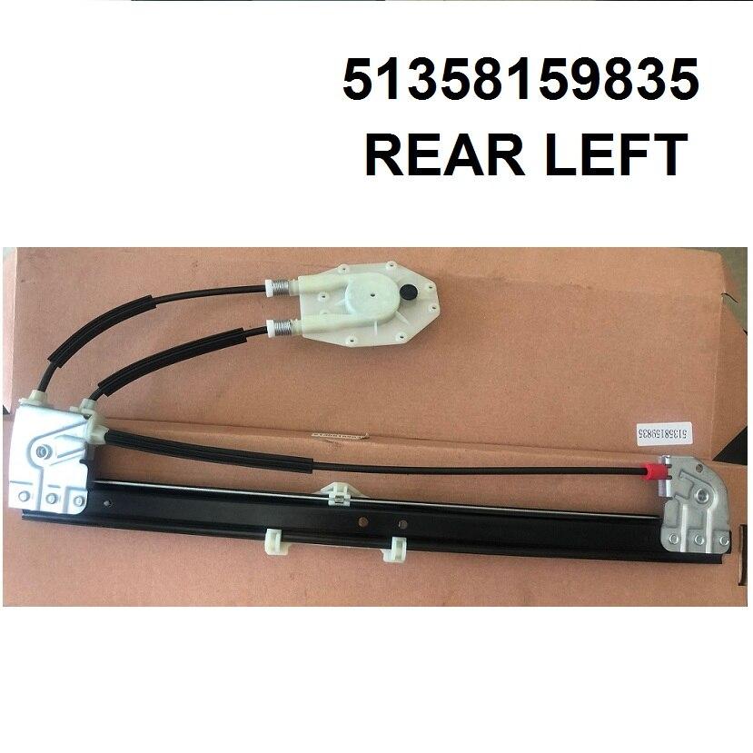OE#51358159835 COMPLETE ELECTRIC AUTO WINDOW REGULATOR REAR LEFT FOR BMW 5 SERIES E39 1995-2004
