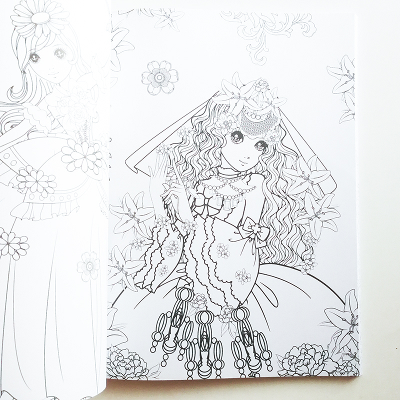 Pretty princess coloring pages - timeless-miracle.com | 800x800