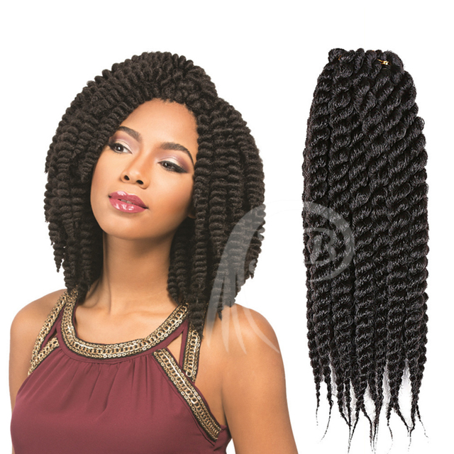Crochet Hair Unit : pression Curly Crochet Braids Hair 14-16 Curly Crochet Br...