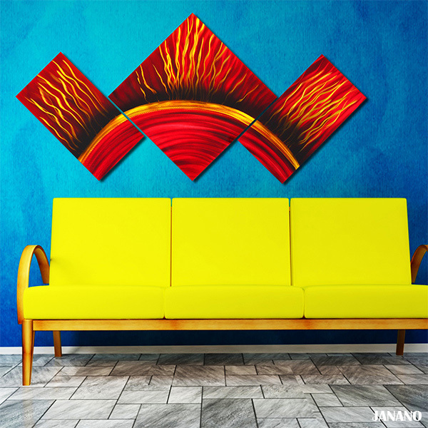Free Shipping New Metal Painting Modern Classic Wall Art oil ...