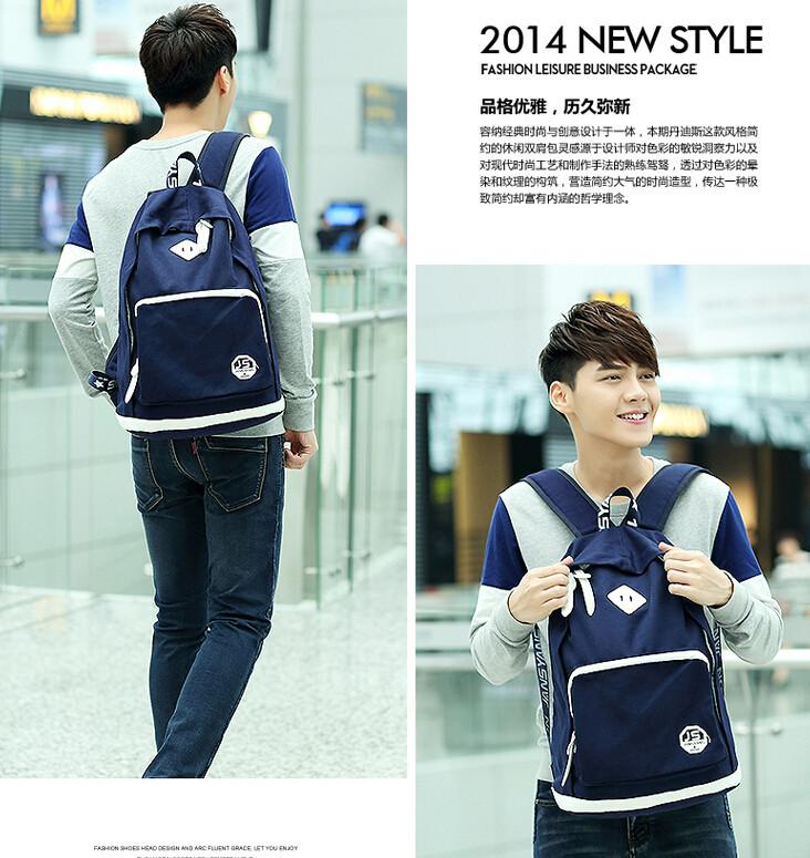 men fashion backpack6