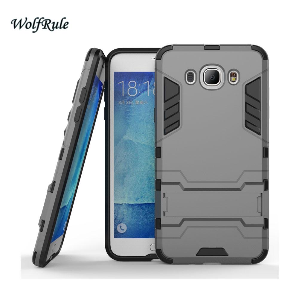 WolfRule sFor Case Samsung Galaxy J7 2016 Cover Soft TPU + Slim PC - Բջջային հեռախոսի պարագաներ և պահեստամասեր - Լուսանկար 2
