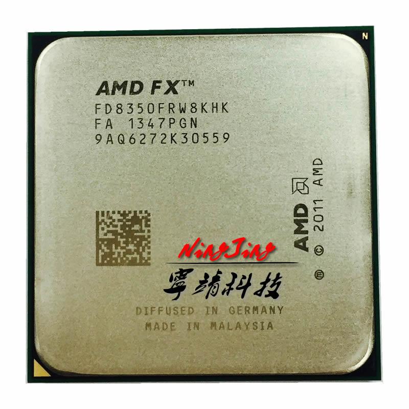 AMD FX Series FX 8350 FX 8350 4 0G 125W FD8350FRW8KHK Socket AM3
