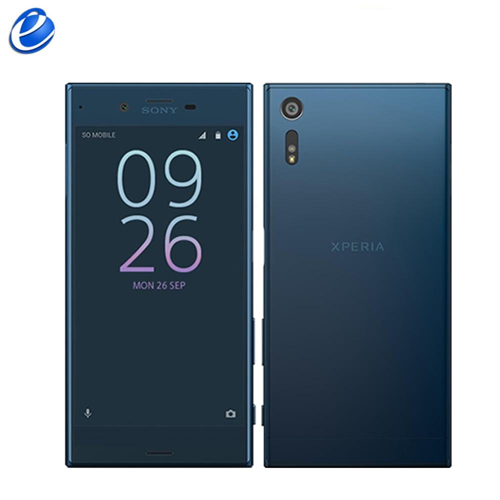 Original SonyXperia XZ Single Sim F8331 Dual Sim F8332 Quad Core Fingerprint 5 2 Android 3GB