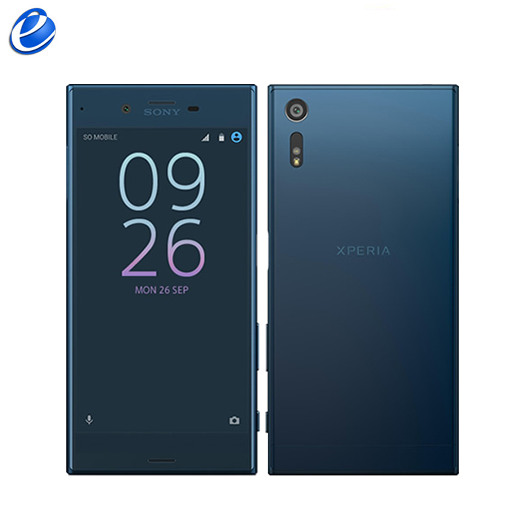 "Original SonyXperia XZ Single Sim F8331/Dual Sim F8332 Quad Core Fingerprint 5.2"" Android 3GB RAM 32GB/64GB ROM mobile Cellphone-in Cellphones from Cellphones & Telecommunications    1"