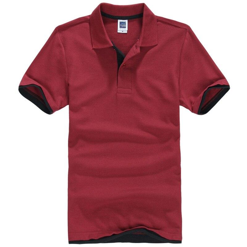 Novo Homem Camisa Polo Mens Ocasional Bordado camisa Pólo de Algodão Dos Homens dos homens do polo de Manga Curta de Alta Quantidade 66576