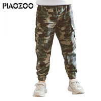 Teenage Boy Clothing Kids Camouflage Trousers Kids Pants Boys Trousers Camo Pants Boys Military Pants Big Size 4 6 8 10 12 14P20