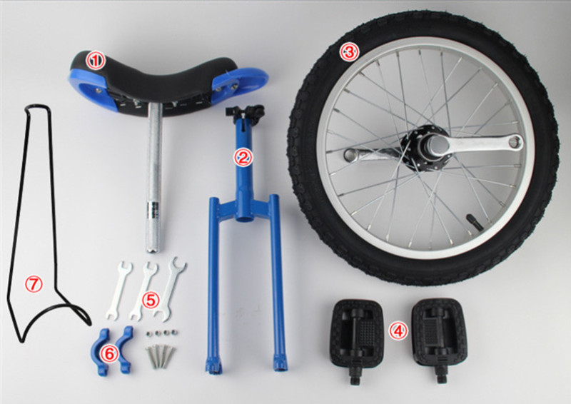 """Brand New 16"""" 18"""" 20"""" 24"""" Unicycle Cycling Scooter Circus Bike Youth Adult Balance Exercise Single wheel Bicycle Aluminum Wheel"""