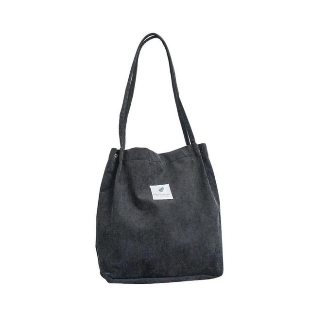 Canvas Solid Shoulder Bag...