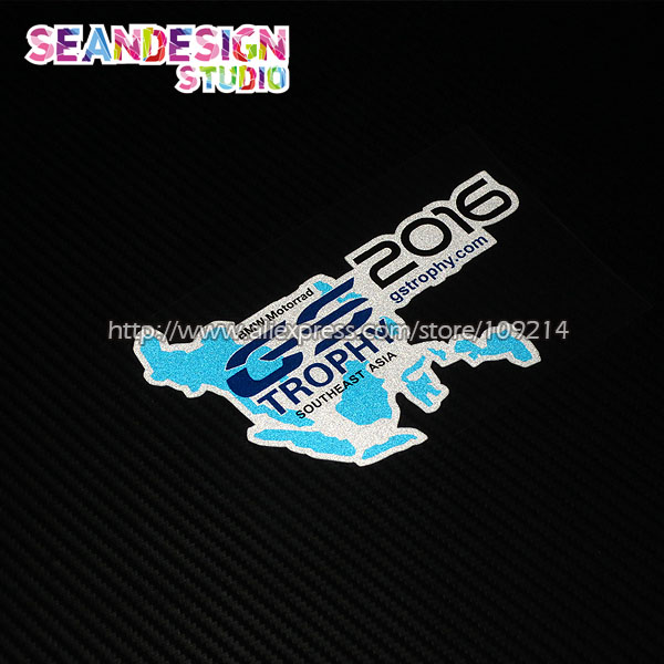 For BMW Motorrad GS Trophy RGS FGS FGS Helmet Motorcycle - Bmw motorcycle stickers and decals