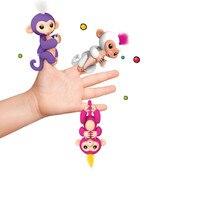 Fingerlings Interattivo Del Bambino Scimmie Dito Lings WowWee Intelligente scimmia Giocattoli Colorati Intelligente Induzione Giocattolo Per Bambini Regalo Di Natale