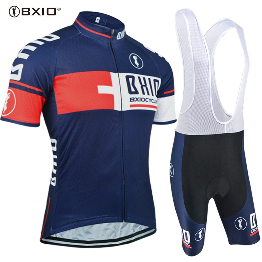 BXIO Brand Top Selling Cycling Jersey Sets Bike Team Anti-Pilling Over Size Men Bicycle Clothing Multi Color Ropa Ciclismo 176 hot cycling jerseys magnolia flowers hot cycling jersey 2017s anti pilling female adequate quality sleeve cycling clothing f