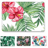 Leaf Flower Hard Case Cover For Macbook Air 13 11 Pro 13.3 12 15 15.4 Protective Shell For Apple Mac Pro 13 Case Fashion Sleeve