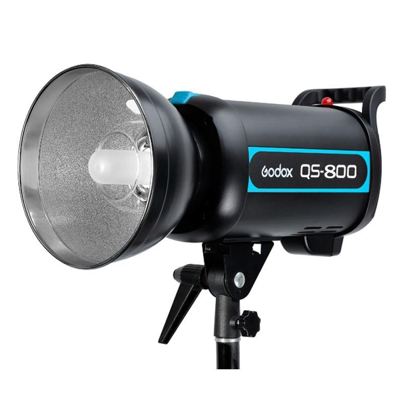 Godox QS-800 800W 800Ws Photo Studio Flash Strobe Light Lamp Head 220V 230V 110V godox qs 300 300w 300ws speed studio strobe flash light lighting lamp head 110v