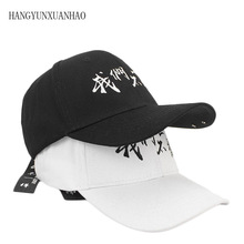 2019 Fashion New Letter Adjustable Summer Hat  Snapback Unisex Style Golf Casual Baseball Cap Adult letter Bone