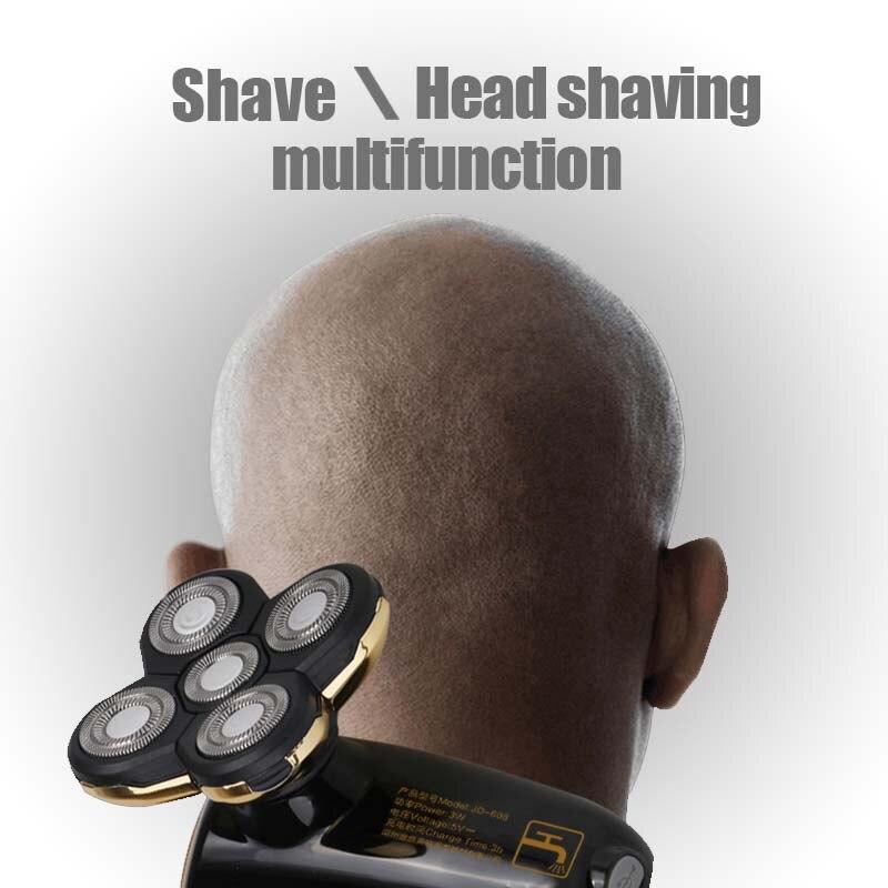 JINDING Electric Shaver Braun Hair shaver Hair trimmer Razor Portable beard trimmer automatic blade knife mens electric shavers braun cruzer 5 beard