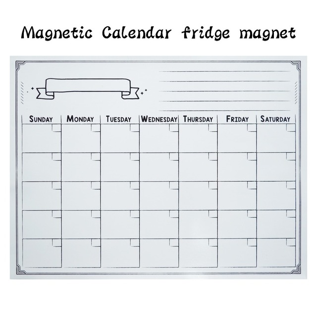 Seatrend Magnetic Whiteboard Dry Erase Board Magnets Fridge