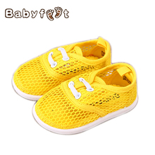 2017 Summer Baby  Breathable First Walkers Boy Girl Soft Running Shoes High Quality Casual Beach Antiskid Footwear Shoe