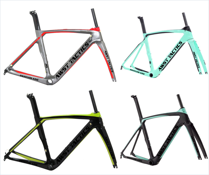 700C Bike Frame Carbon Road Bicycle Frameset XR4 Di2 Mechanical UD Black Road Bike Racing Bicycle Wheels Cycling Frame