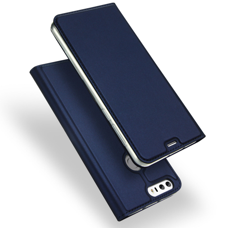 Fashion Kulit Kasus Untuk Huawei Honor 8 Lite Kasus Slim Luxury Card - Aksesori dan suku cadang ponsel - Foto 4