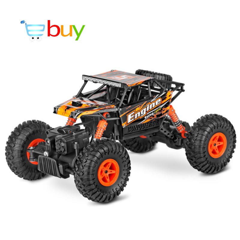 1:18 WLtoys Remote Control Car 4WD RC Electric Rock-climber Cross-country Climbing Buggy Drift Off-Road Bigfoot Electronic Toys new country rock