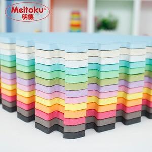 Image 1 - Meitoku baby EVA Foam Play Puzzle Mat/9pcs/lot Interlocking Exercise Tiles Floor Mat for Kid,Each 32cmX32cm