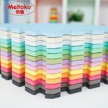 Meitoku bebê eva espuma jogar quebra cabeça esteira/9 pçs/lote bloqueio exercício telhas tapete para o miúdo, cada 32cmx32cm