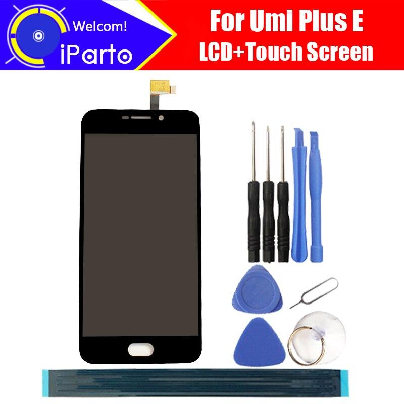5.5 pulgadas Umi Plus e pantalla LCD + pantalla táctil 100% original probado digitalizador panel de vidrio reemplazo para Plus e 1920x1080 + Herramientas