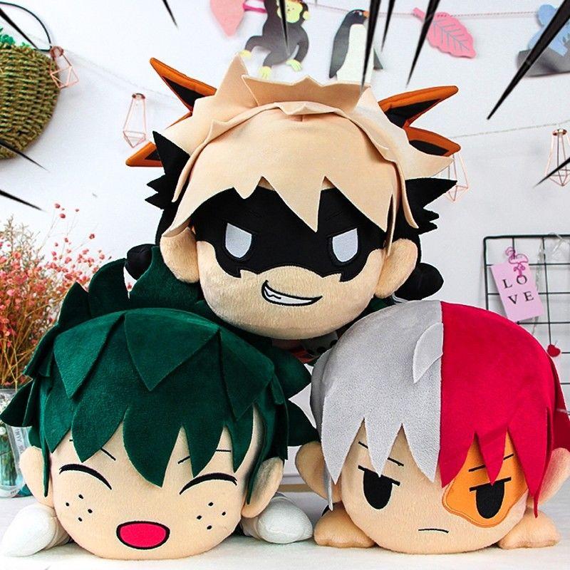 Anime My Hero Academia Boku no hero Academia Midoriya Izuku Katsuki Bakugo Todoroki Shoto Doll Plush Toy Gift