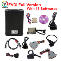 HOT Diagnostic Tool FVDI ABRITES Commander With 18 Software No Time Limited Version FVDI Diagnostic Scanner