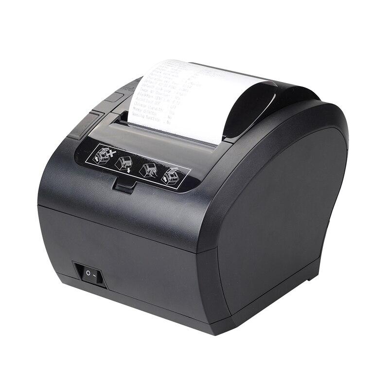 Высокое качество 80 мм Термальный чековый принтер автоматический резак банкнот принтер wifi/Bluetooth/USB/LAN/RS232 кухонный Ресторан POS принтер - 2