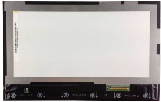 free shipping original new S6000-F Tablet PC LCD screen screen inside the screen BP101WX1-206 assembly lcd screen with touch 595184 001 connect with printer motherboard full test lap connect board