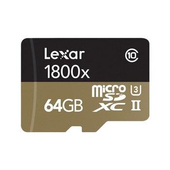 микро SDXC карта | Lexar Micro SD карты 1800x Microsd 64 Гб 270 МБ/с. Sdxc U3 32 Гб Cartao De Memoria Class 10 флэш карты памяти TF карта для смартфона