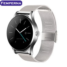 Femperna K88H Fitness Track Wristwatch MTK2502 Bluetooth Smartwatch Heart Rate Monitor Pedometer Smart Watch For Android IOS