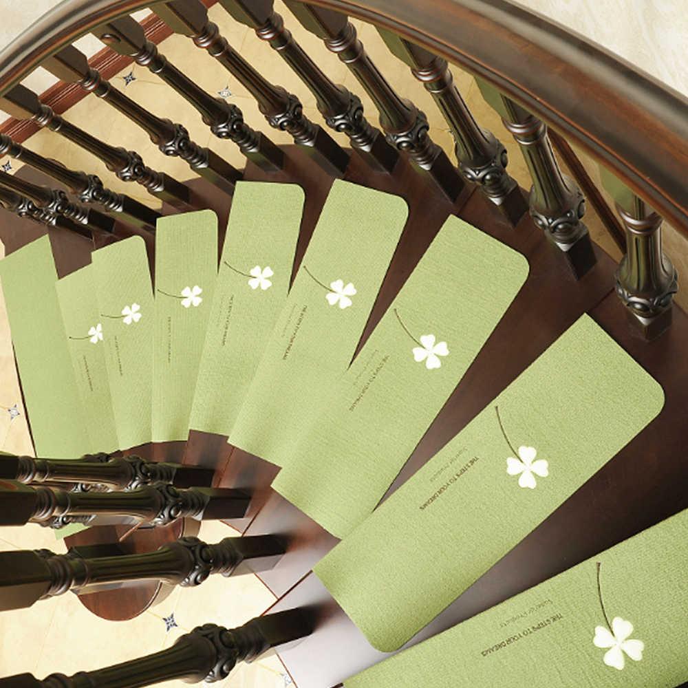 Drukuj dywan stopnie na schody antypoślizgowe Luminous dywaniki podłogowe Step maty dekoracyjne antypoślizgowa samoprzylepna dywaniki na schody