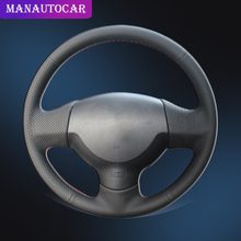 Car Braid On The Steering Wheel Cover for Mitsubishi Lancer X 10 2007-2015 Outlander 2006-2013 ASX 2010-2013 Interior Auto Cover все цены