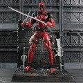 Deadpool Рисунок DST ARTFX + X-MEN X-MEN Оружие Икс Уэйд Уилсон ГРАЖДАНСКАЯ ВОЙНА Железный Человек Росомаха ПВХ Фигурку Модель Игрушка в Подарок