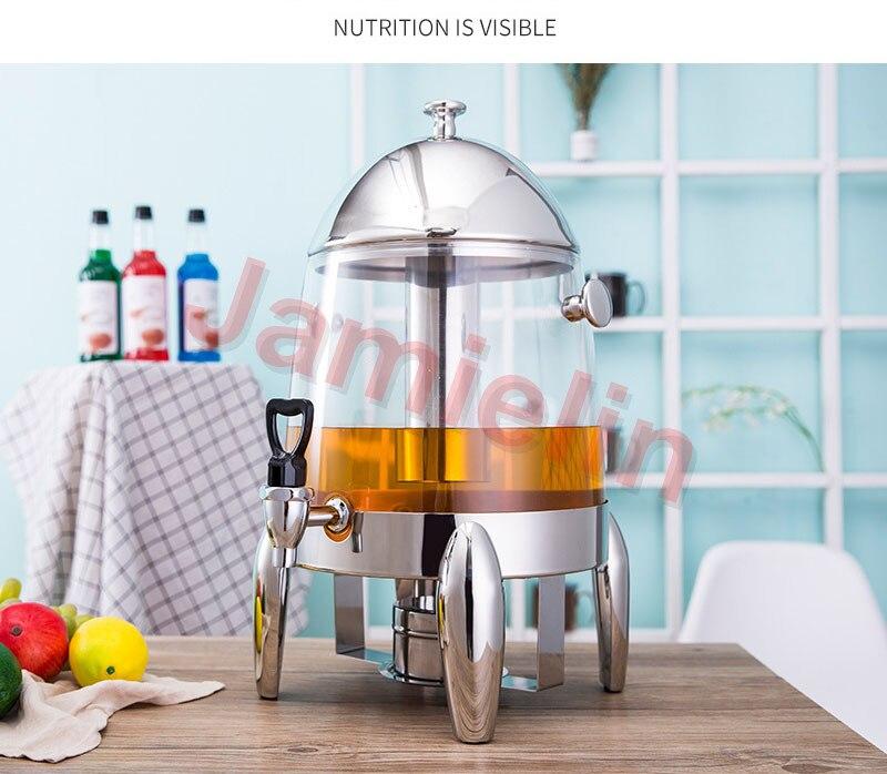 Jamielin кофе штатив изоляции молока холодной и теплой Электрический Подогрев напитков машина соковыжималка из нержавеющей стали