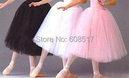 df35aa5faf Adult design ballet skirt white/pink/black tutu skirts organza tulle dance  costume puff