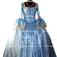 מארי אנטואנט צרפתית מושבות בטהובן ואלס ונציה נשף מסכות מארדי גרא סלים שמלת שמלה