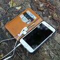 Оригинал мобильные случаи Для iphone 5 SE флип case 6 6 s 7 плюс Натуральная Кожа Люкс Кошелек Телефон Case 4.7 inchcustom имя обслуживание