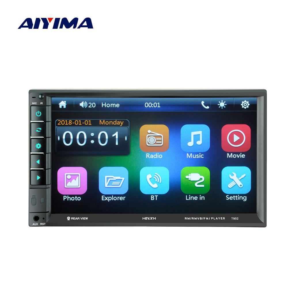 Unterhaltungselektronik Aiyima Bluetooth Multimedia Video Mp5 Player 7 hd Touch Screen Digital Display Usb Tf Aux Fm Radio Mp4 Musik Player Für Auto