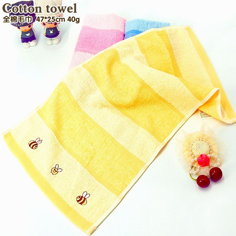 Children Washcloth Baby Feeding Baby Face Towels Washers Hand Cute Cartoon Wipe Wash Cloth Cotton Face Towel Baby Boy Girl Towel