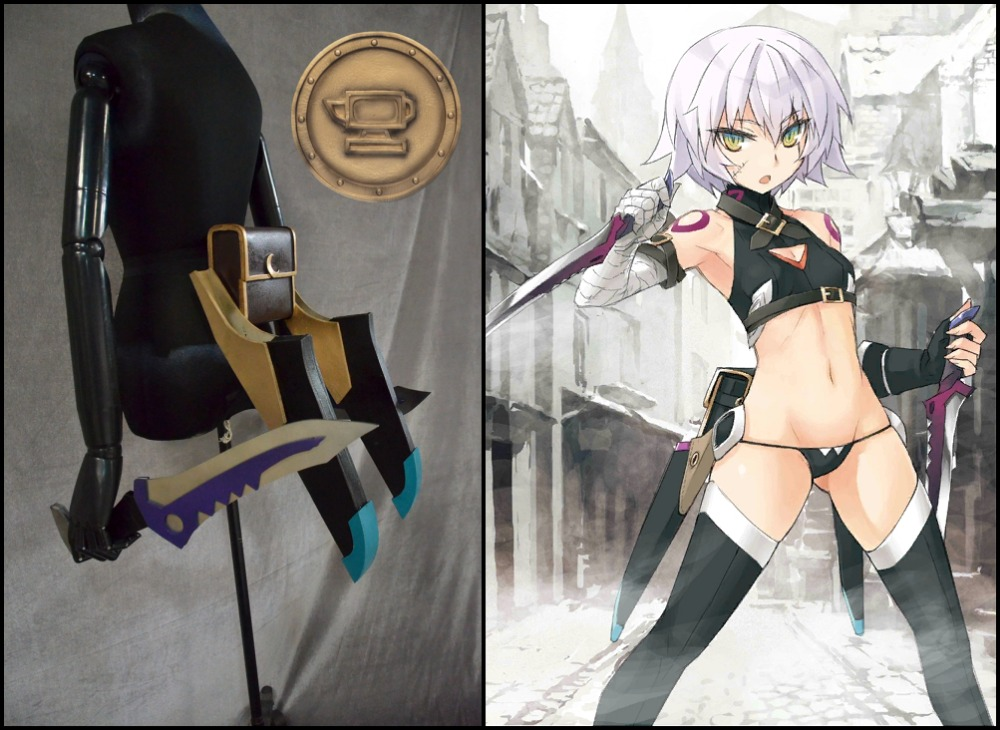 FGO Cosplay Jack the Ripper cosplay props Full set 1