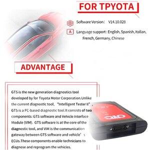 Image 4 - Professionale obd2 scanner automotive IT3 V14.10.028 Globale Techstream OTC Plus 3 in 1 OBDII OTC strumento di diagnostica auto Scanner