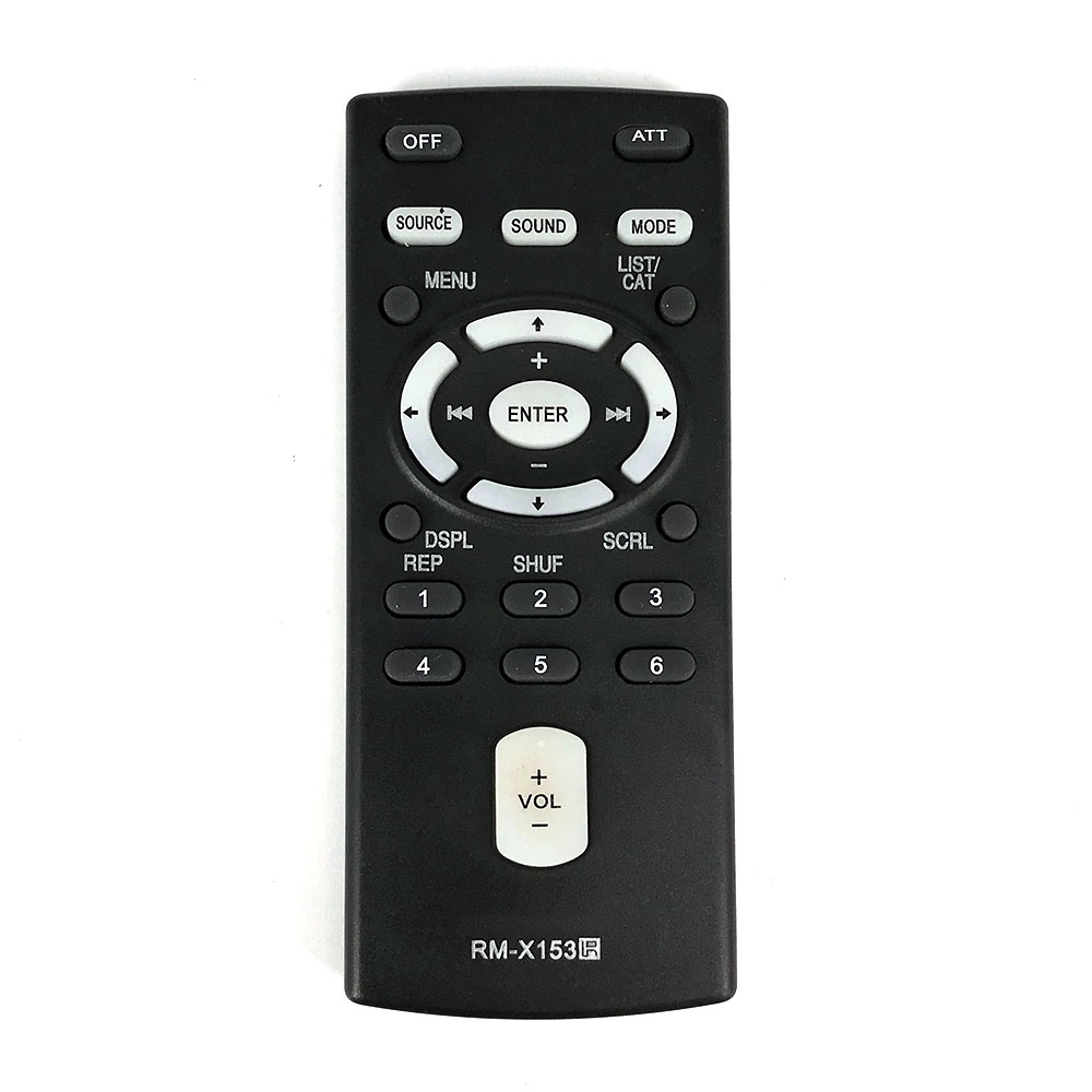 NEW Remote Control Replace For SONY RM-X153 RM-X151 RM-X154 Glove Box Kept Sony Car Stereos Fernbedienung
