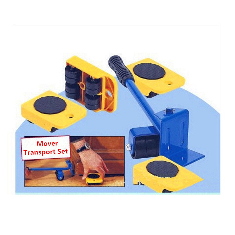 Furniture Mover Dolly Trolley Transport Removal Set Heavy Duty Lifter Wheel  Move(Hong Kong)