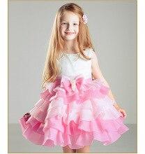 Кот розовый короткое платье с кружевными оборками детей платье на платье ну вечеринку